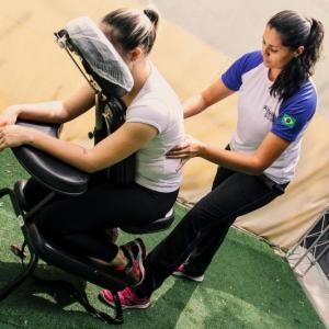 Quick massage para eventos